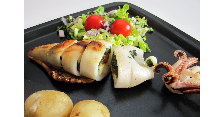 Taverna Bacchus' fyldte blæksprutter
