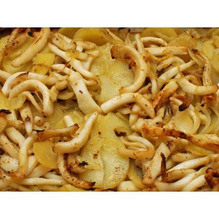FISKEHUSET's blækspruttefad