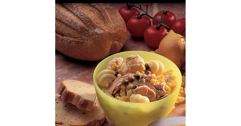 Tunsalat med pasta