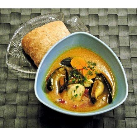 FISKEHUSET's gode fyldige fiskesuppe