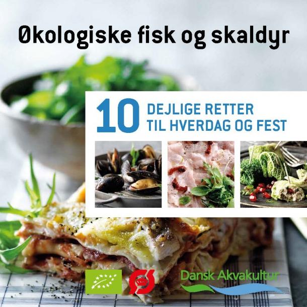 Økologiske fisk og skaldyr (gratis opskriftshæfte)